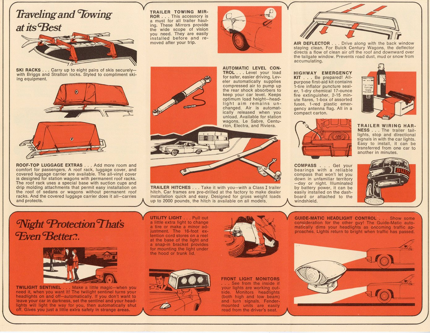Gran Sport Stage 1 Accessory Brochures 74 Buick Under Dash Fuse Box Removal 1974 Accessories Brochure